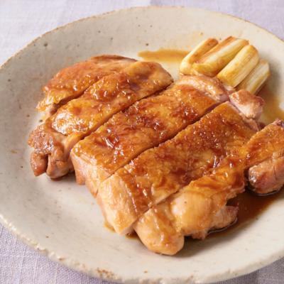 手作りソースで鶏の照り焼き