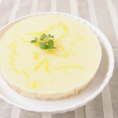 ゆず香る レアチーズケーキ