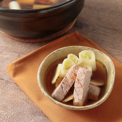 生姜たっぷり ねぎま鍋