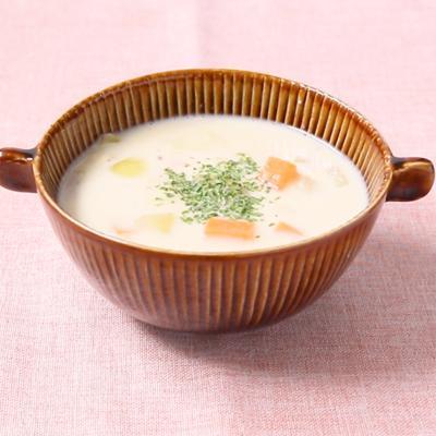 里芋の豆乳スープ