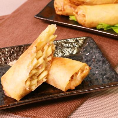 タケノコの美味しさ満載!揚げ春巻き