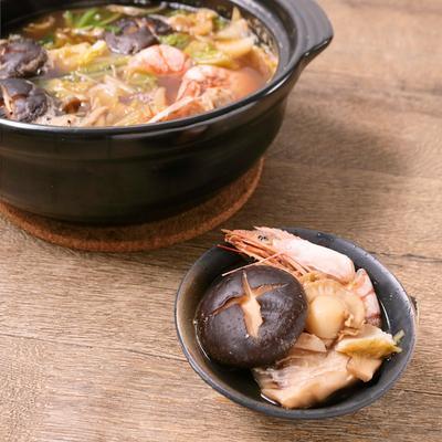 海鮮たっぷり寄せ鍋