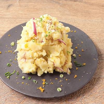 カラスミのポテトサラダ