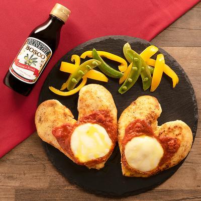 BOSCOでイタリアン鶏むね肉のピザ風ソテー