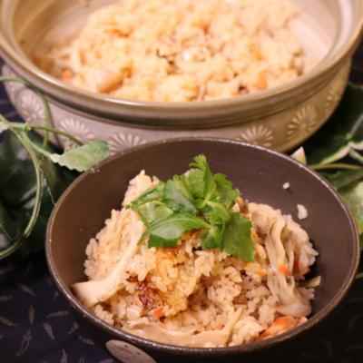 ご飯の炊き方!土鍋で炊き込みご飯