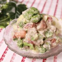 栄養満点!バランスばっちり!ごろごろ野菜のサラダ