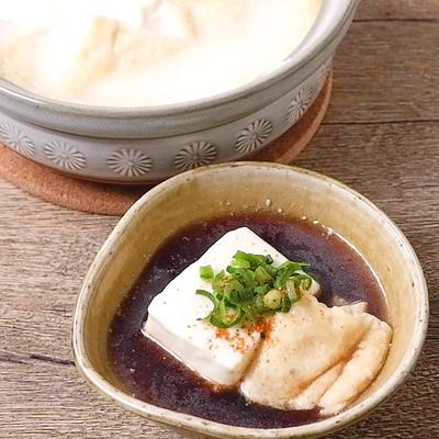 重曹でトロトロ湯豆腐