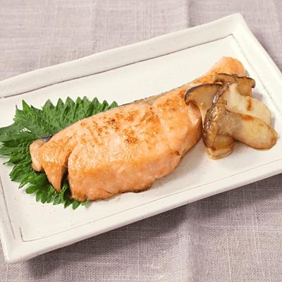鮭のバター風味照り焼き
