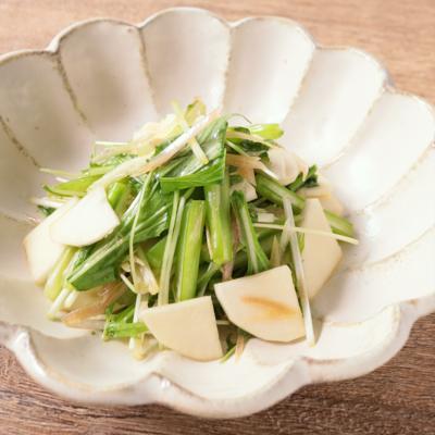 カブと水菜のコク旨サラダ