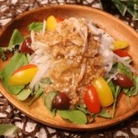 ひきわり納豆で簡単!納豆ドレッシングの豚しゃぶサラダ
