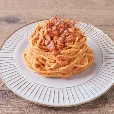 カシューナッツで濃厚 トマトクリームパスタ