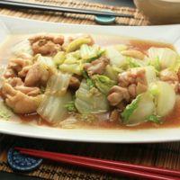白菜と鶏肉の中華煮