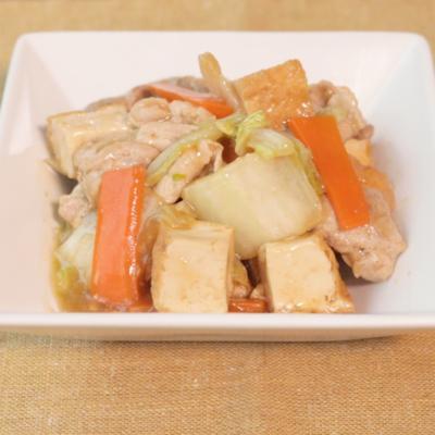 ご飯のお供に 厚揚げの中華煮