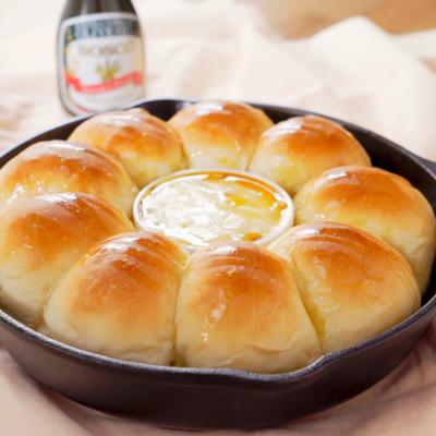 スキレットちぎりパン