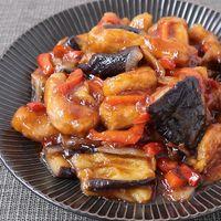 三元豚と3種の野菜でボリューム満点 黒酢の酢豚
