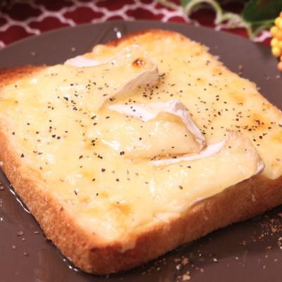 やみつき!チーズたっぷりトースト