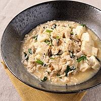 しらすとニラの和風マーボー豆腐
