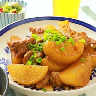 鶏肉と大根のゆず胡椒煮