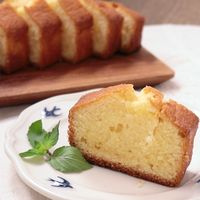 塩バニラパウンドケーキ