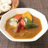 野菜たっぷりカレー素麺つゆ