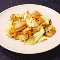 まるでお肉の食感!車麩と野菜の炒め物