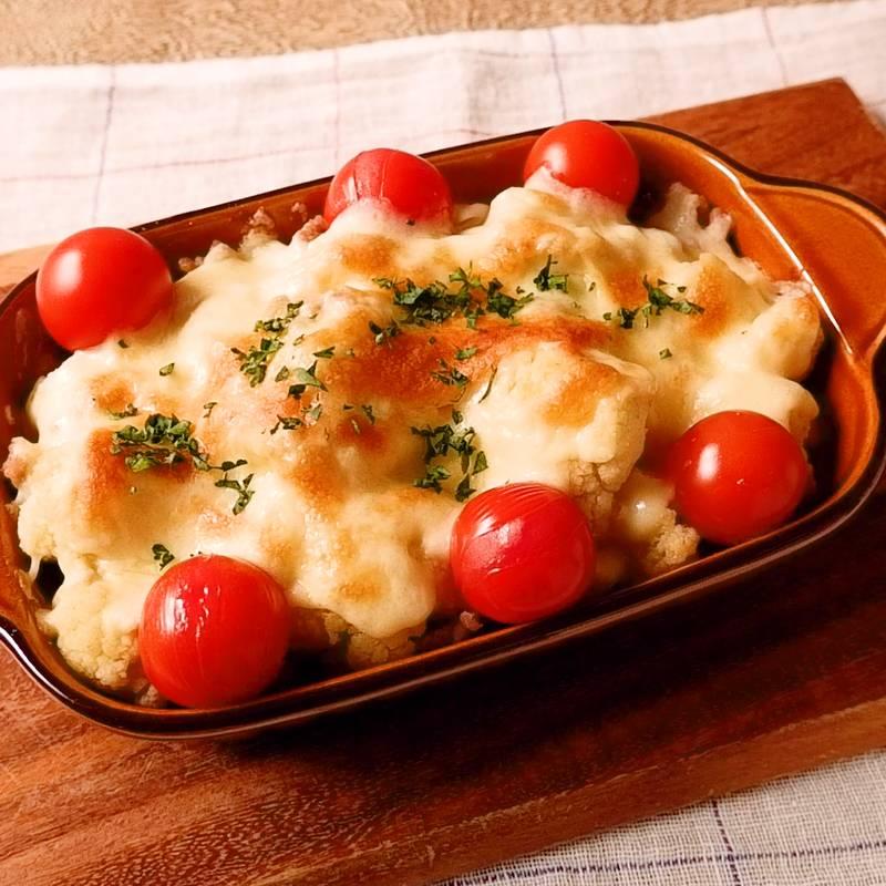 カリフラワー チーズ 焼き