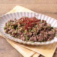 牛肉と香味野菜のさっぱり炒め