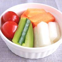 カラフル野菜の即席ピクルス