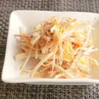 ごぼうの味噌マヨサラダ