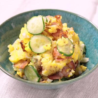 カリカリベーコンのポテトサラダ