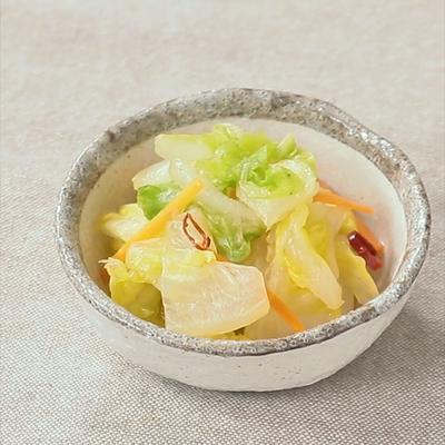 ゆずポン酢で 即席白菜の浅漬け