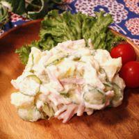 豆腐マヨネーズのポテトサラダ