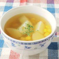ほっこりあたたまるポテトスープ