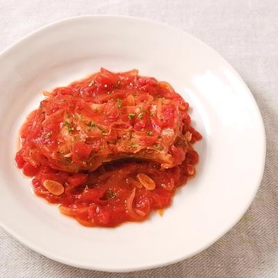ブリカマのトマト煮
