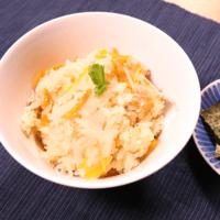 味付けはめんつゆだけ!鮭と根菜の炊き込みご飯