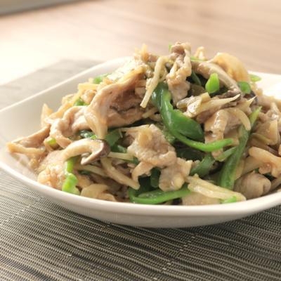 豚肉とザーサイの中華風炒め