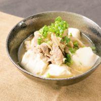 アツアツ簡単肉豆腐
