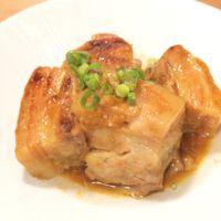 炊飯器で簡単 すだち香る塩味の豚バラ角煮