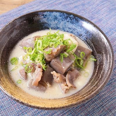 豆腐入り 牛すじ肉のどて焼き