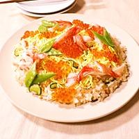 家族でワイワイ 簡単ちらし寿司