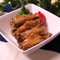 鶏のスペアリブ甘辛煮