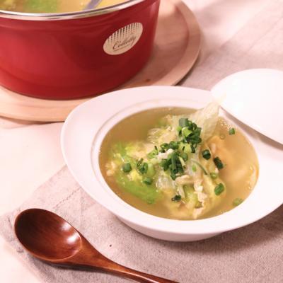 レタスジンジャースープ
