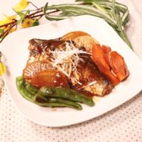 栄養たっぷり!サバと野菜の味噌煮