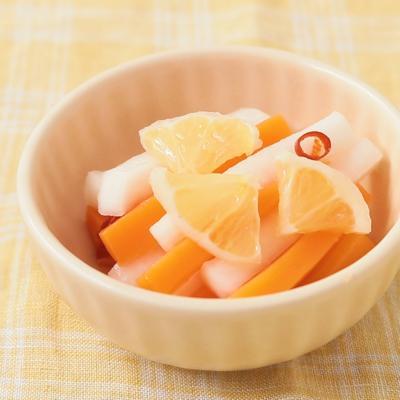 ハチミツレモンとにんじんのピクルス