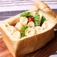 食パン丸ごと パリふわサンドイッチ