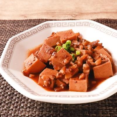 麻婆豆腐の素で作る 麻婆高野豆腐