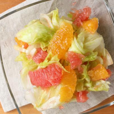 柑橘類たっぷり フレンチサラダ
