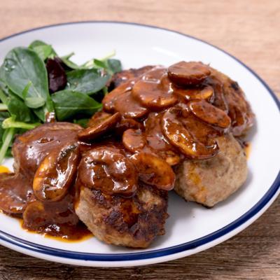 合挽き肉で常備菜 ミニハンバーグ