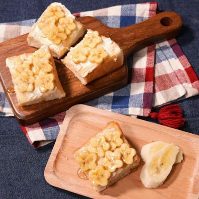 フラワーバナナのデザートパン