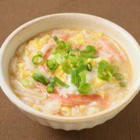 カニカマで簡単 中華風雑炊